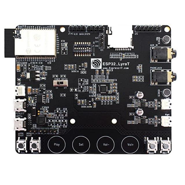 ESP32 LyraT dla Audio IC narzędzia programistyczne przyciski, wyświetlacz tft i kamera obsługiwane ESP32 LyraT ESP32 LyraT