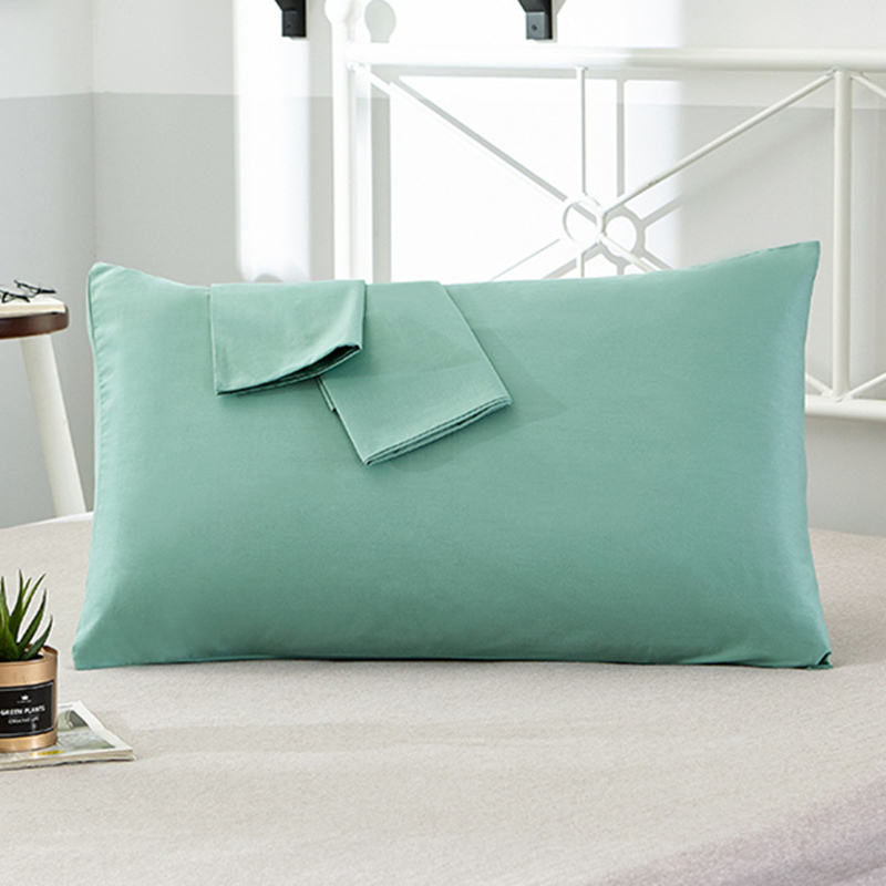 100% Cotton Pillowcase Solid Color <font><b>Pillow</b></font> Cover 66*66cm 50*75cm Multicolor optional Sleeping Bedding <font><b>Pillow</b></font> <font><b>Case</b></font> Free shipping image