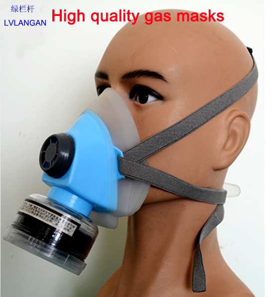 High Quality Self-priming Filter Type Antivirus Protect Mask Prevent Harmful Gas Face Safely Security Protector h1xy 2002 self priming filter gas half mask black