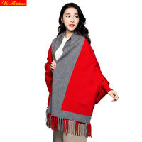Blanket Magic Scarf Echarpe Femme Homme Foulard Winter Shawl Women Red Black Grey Double Face Scarves