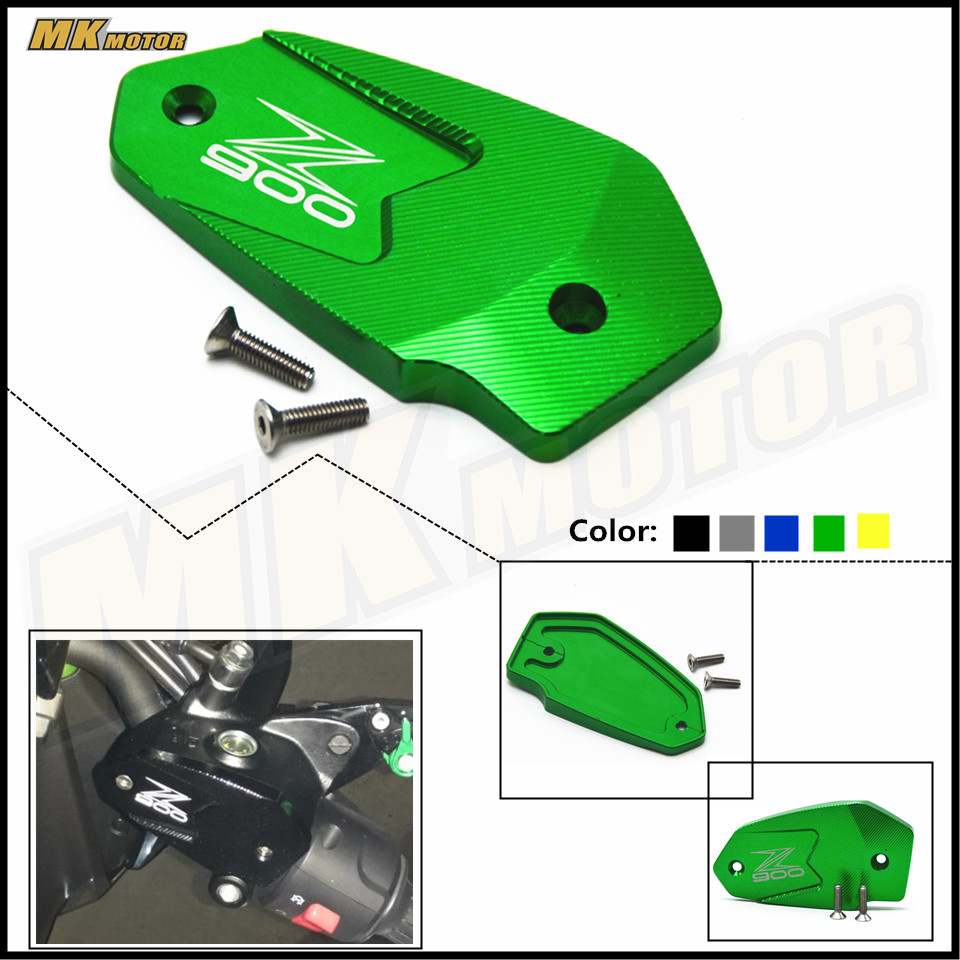 BYSPRINT NEY Motorcycle Accessories Motorbike Brake Fluid Tank Cap Cover For Kawasaki Z900 Z 900 z900  2017 Free Shipping free shipping hot sale for kawasaki z900 z 900 motorcycle accessories rear brake fluid reservoir cap oil cup