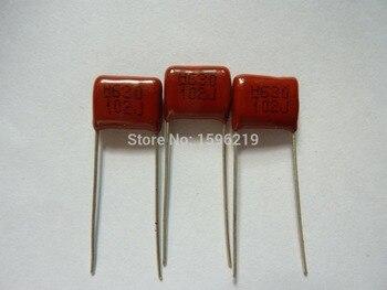 10 шт. CBB 102 630 В 102j cbb13 0.001 мкФ 1nf P10 Металлизированная Полипропиленовая Плёнки конденсатор