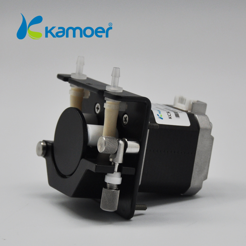 Kamoer KCS 12V Water Pump (Liquid Pump, Stepper Motor, Digital Control, Long life, High Precision, Silicone/Viton/PharMed) kamoer kcs mini peristaltic pump stepper motor 24v electric water pump