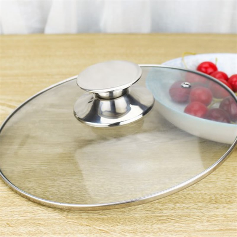 2Pcs/Set Replacement Stainless Steel Pot Lid Knobs 1