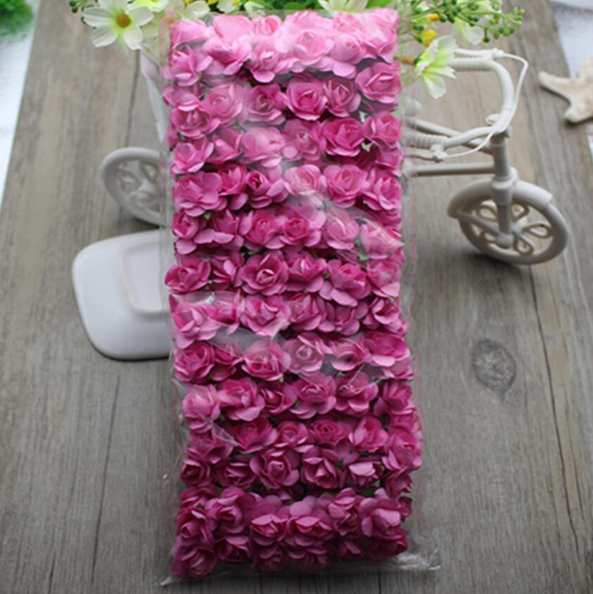 144pcs 2cm artificial paper rose flower for wedding kissing ball 144pcs 2cm artificial paper rose flower for wedding kissing ball wreath bouquet making flower craft candy boxes decoration in artificial dried flowers mightylinksfo
