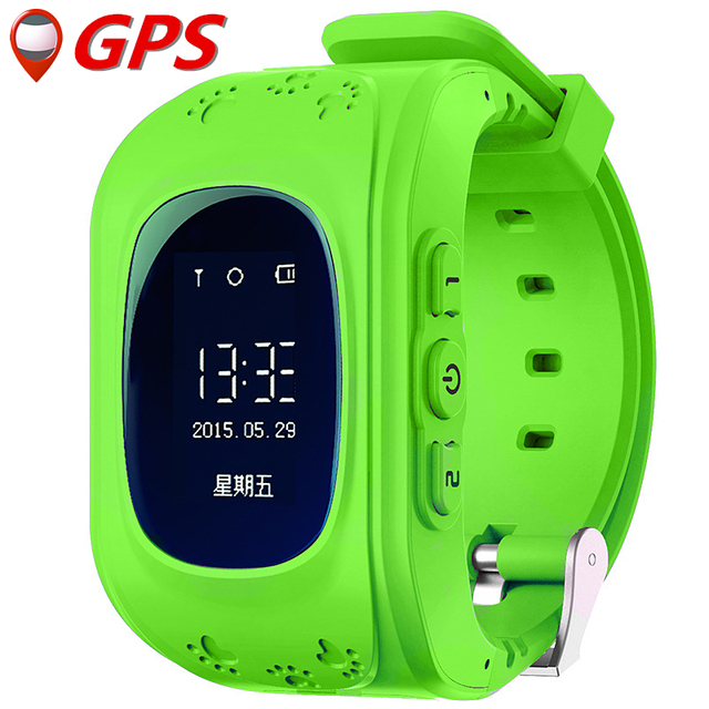 Original Kid Smart Watch Q50 GPS Location SOS Call Baby Safe Wristwatch Finder Locator Tracker Watch for Child Anti Lost Monitor