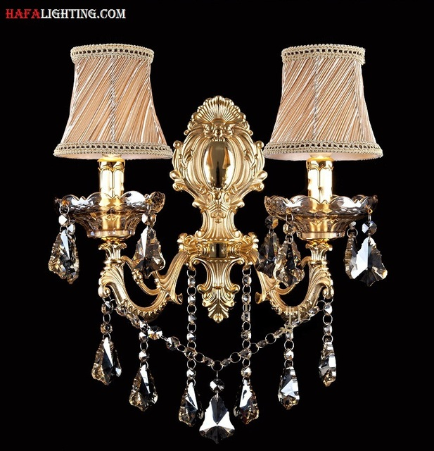 Fashion Crystal Wall Lamp Sconce Light Candle Wall Lamp