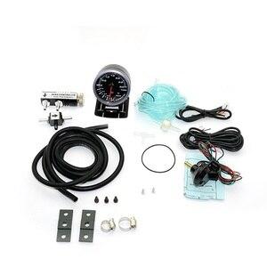 60MM Turbo Boost Gauge 3Bar + Kit de controlador Turbo Boost ajustable 1-30psi medidor de coche