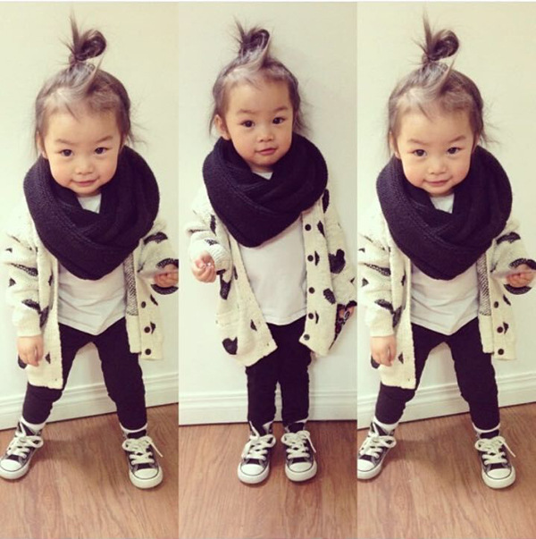 69e4ca457 2016 new fashion girls cardigan sweater kids baby knitted cape ...