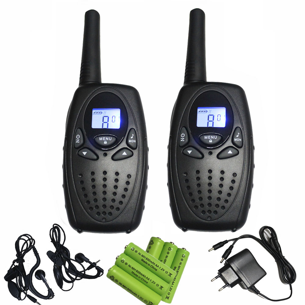 Tālsatiksmes pāris T628 melnais skārienjūtīgais telefons PMR446 raidītājs fm mobilais tālrunis w / austiņu baterijas lādētājs tieši pērk porcelānu
