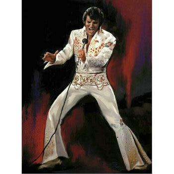Broderie Diamant Elvis