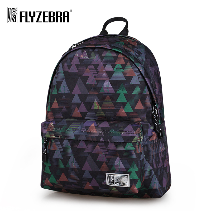 FLYZEBRA Men Women Printing Forest Backpack School Bag College Students Couple Backpack Travel Bagpacks for School Teenagers 100 ideas for early years practitioners forest school