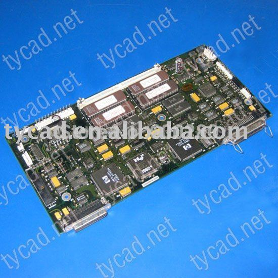 C3180-69102 Main logic board  for the HP DesignJet 200 220 plotter parts q6713 60001 main electronics board designjet t1100 hd t1120 hd t1200 hd formatter board main boad ink printer plotter parts