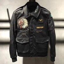 9d72c6fe581 2018 Новые поступления 4XL пэчворк Локомотив кожаные куртки и пальто для  больших и высоких мужские байкерские кожаные куртки пал.