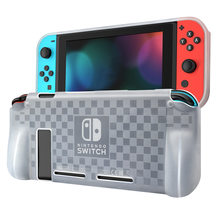 TPU Protective Cover Case For Nintendo Switch NS/X Console Joy-Con Controller One-piece Anti-scratch Dustproof Transparent Shell(China)