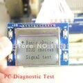 Envío libre Reparación LCD Prueba de Depuración de Escritorio PC Placa Base PCI PTI9 PCI Prueba De Diagnóstico de Depuración tarjeta Postal Pantalla Inglés