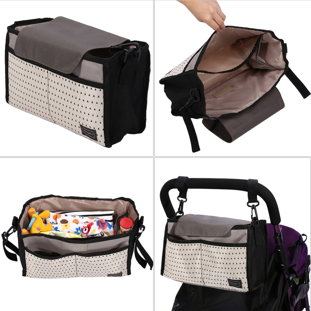 2 Colors Diaper Bag Baby Milk Bottle Insulation Bags Mummy Storage Bag for Baby Stuff Collection 2 Colors Diaper Bag Baby Milk Bottle Insulation Bags Mummy Storage Bag for Baby Stuff Collection Stroller Accessories Baby Care