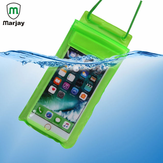 half off 11db4 53e06 Universal Cover Waterproof Phone Case For iPhone 7 Coque Pouch Waterproof  Bag Case For Xiaomi redmi note 5 Swim Waterproof Cases-in Phone Pouch from  ...