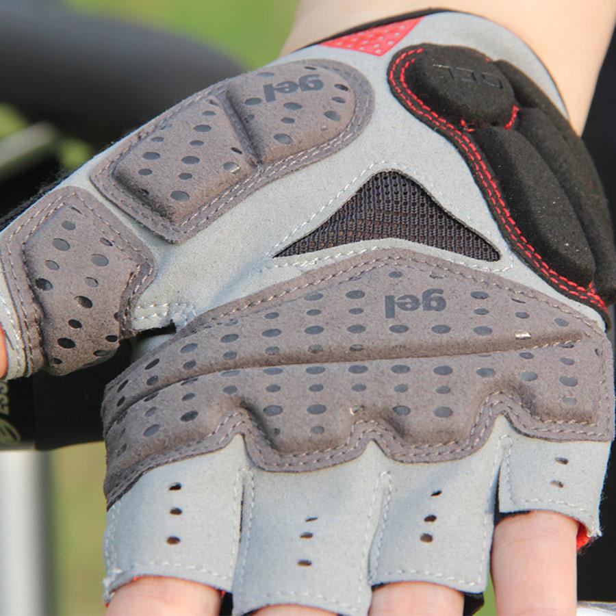 GUB קיץ רכיבה כפפות ג'ל חצי אצבע mtb כביש ההר אופניים אופניים כפפות ספורט גברים כפפות