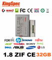 Kingspec 1.8 ssd zif ce 2 hd disco rígido hdd de 32 gb para sony tz e ux series para macbook air para samsung q1ex q1up ultra para htc 9500