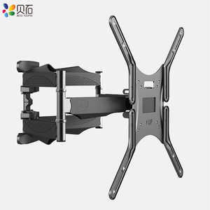 """Image 2 - Articulating 6 Arms TV Wall Mount Full Motion Tilt Bracket TV Rack Wall Mount  for 32"""" 65"""" TVs up to VESA 400x400mm and 88lbs"""
