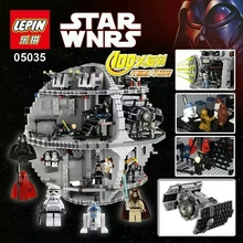 HOT sale lp05035 Preventa  Star Wars Death Star II Kits de Edificio Modelo Bloques Minifigure Ladrillos Juguetes 3803 Unids