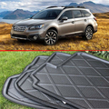 For Subaru Outback 2015 2016 2017 Rubber Foam Trunk Tray Liner Cargo Mat Floor Protector