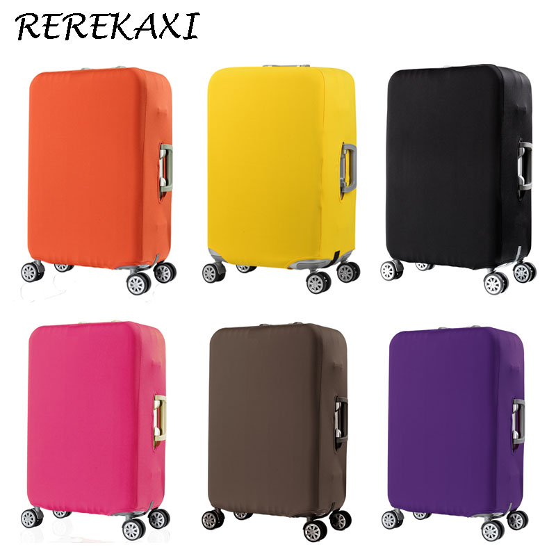 Thicken Elastic Luggage Protective Cover Suitcase Case Covers 19-32 Inch Baggage Trolley Trunk Dust Cover Travel Accessories