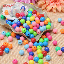 500 pieces exquisite 4mm Bicone Round acrylic Spacers beads for Jewelry marking DIY necklace&Bracelet (Color: optional)