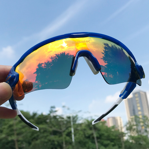 Men Women 3 Lens Polarized Bike Sunglasses Mountain Road Bicycle Glasses Sports Camping Hiking Fishing Goggles Cycling Eyewear Lahore
