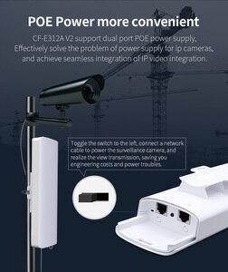 Image 5 - Stokta var! COMFAST uzun menzilli 5KM açık kablosuz erişim noktası yönlendirici Wi fi köprüsü 300Mbps 5Ghz WIFI CPE 2 * 14dBi WI FI anten Nanostation