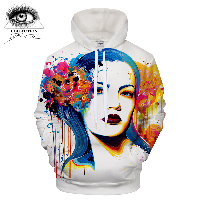 In her Eyes by Pixie cold Art Men Women Hoodies Unisex Hooded Sweatshirts 3D Jackets Casual Tracksuits Fashion Pullover ZOOTOP B