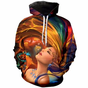 3d Universe Full Printing Hoodies Beautiful Digital Art Galler Printed Hoodie For Women/Men Pullover Sweatshirt Autumn Tracksuit