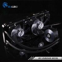 BYKSKI Water Cooling Kit Basic Kit With 120mm 240mm Radiator Pump CPU Block Fan Simple Cooling