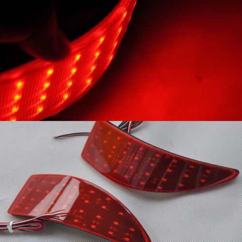 For Lexus IS250 IS350 06 07 08 09 10 11 12 13 LED Rear Bumper Reflector Brake Tail Light