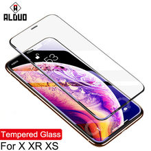 9H HD Tempered Glass For iphone XS Max X XR 7 8 Plus 5s 6 6s Screen Protector protective Glass Film on iphone 7+ 8 Plus X Case(China)