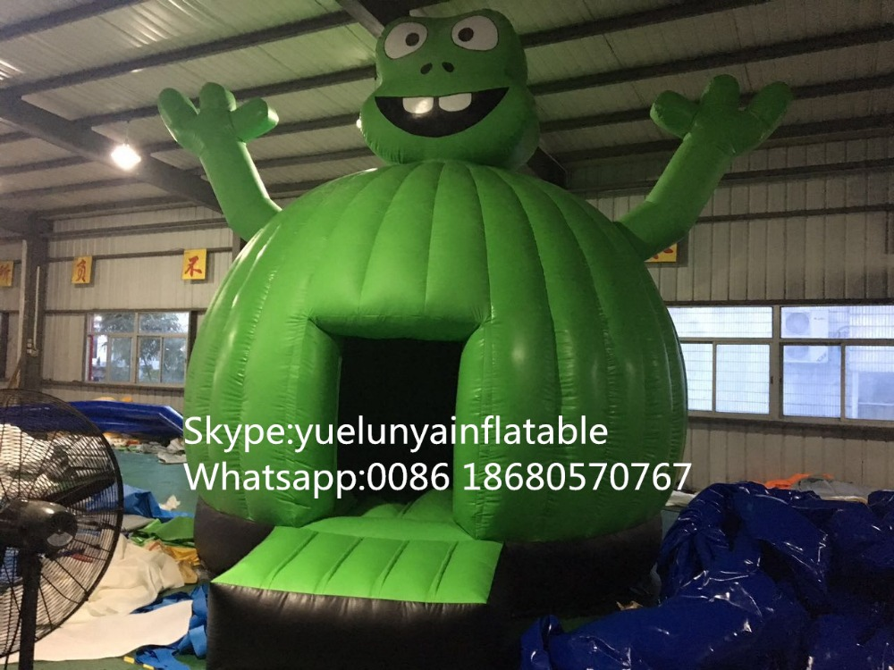 2016 new Factory direct Inflatable slide, inflatable castle, Frog Trampoline  KYB-97 factory direct inflatable castle slide small household slides inflatable slides cn 046
