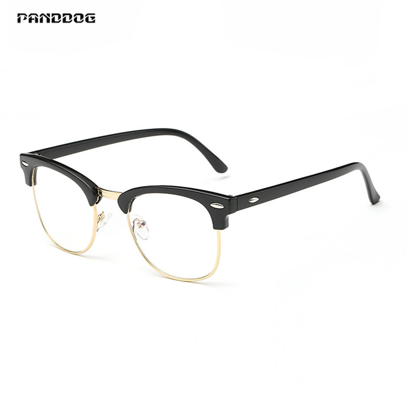 PANDDOG Glasses Anti-Radiation UV Fatigue Blue Light Blocking Computer Gaming Women/Man UV400 Gradient Goggles JF3016