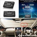 For Nissan Patrol Safari Y61 Y62 - Car HUD Head Up Display  - Safe Driving Screen Projector Refkecting Windshield