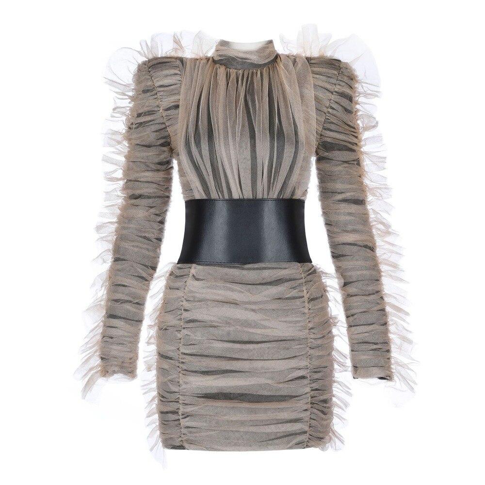Genou En Haute Sexy Dessus Mode Robe Gros Mini Roulé Élégant Moulante Col Femmes Dentelle Qualité Bandagw Du Celebrity pCPwRpHqU