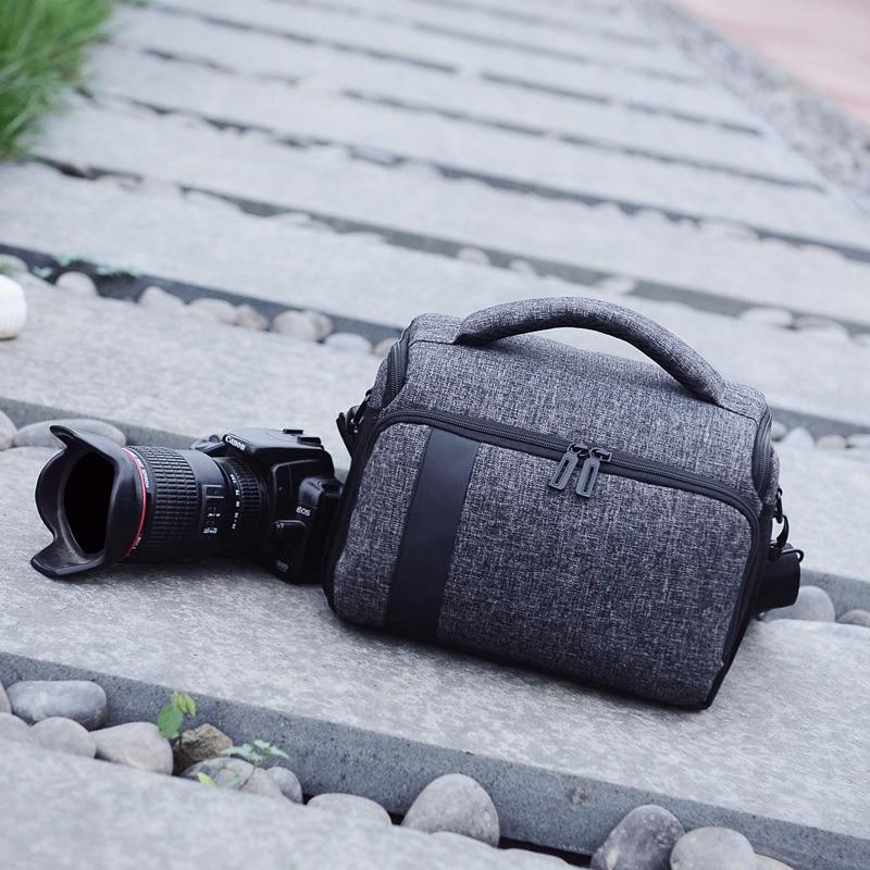 DSLR Camera Bag Case Pour Canon EOS 750D 1300D 1200D 700D 600D 550D 100D M100 Pour Nikon D3400 D5500 D5300 d5200 D5100 D5000 D3200