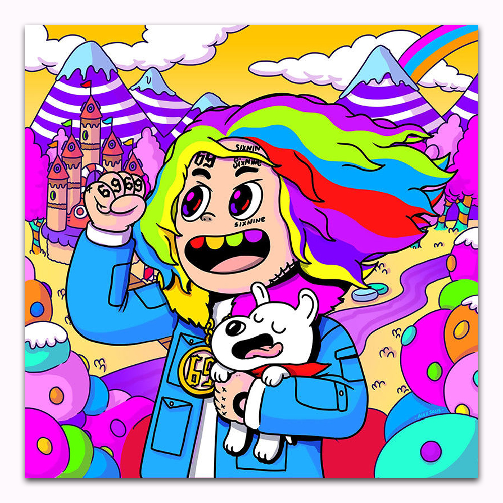 TX028 Hot 6ix9ine DAY69 Graduation Day 2018 Music Album