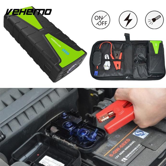 Vehemo US/EU/UK/AU Plug Jump Starter Battery Jump Starter Booster Charger Universal new opportunities uk us