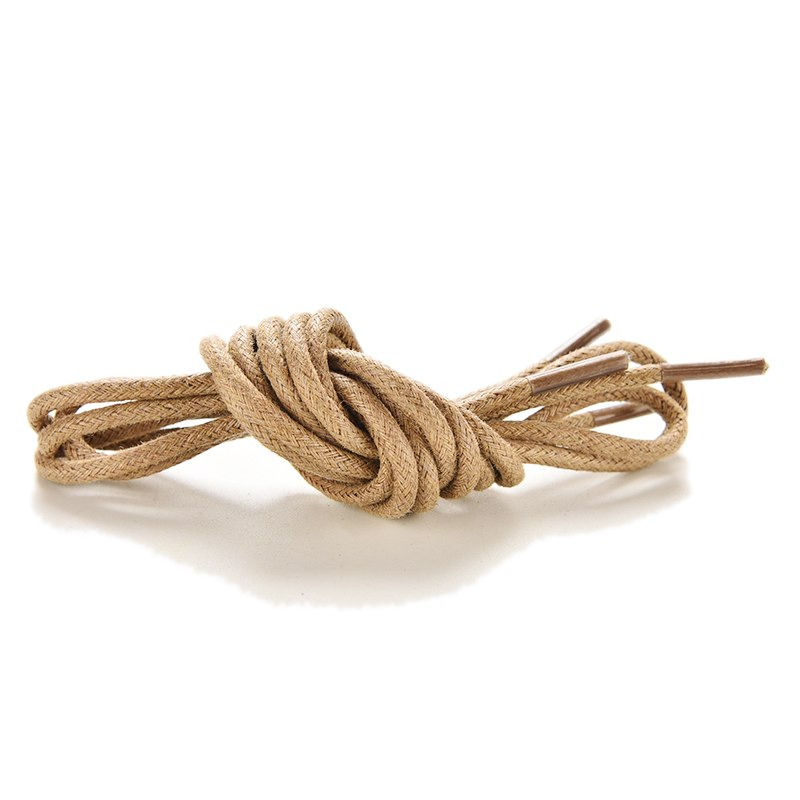 2 Pairs Women Men Dress Waxed Shoe Laces Round Cord String Shoelace Martin boots