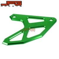 CNC Rear Brake Disc Guard Protect For KLX450R 2007 2008 2009 KX250 KX125 2004 2005 KX250F