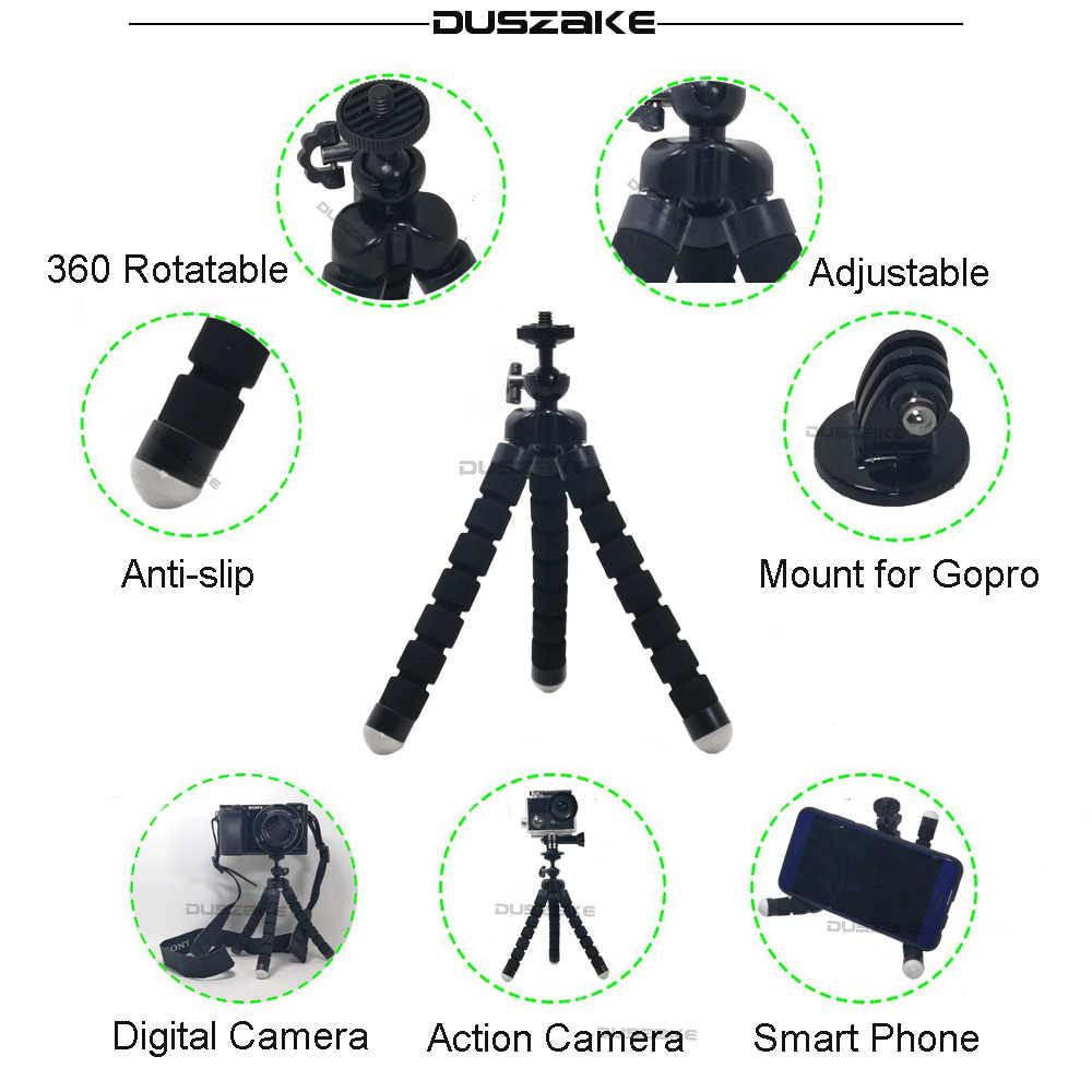 Duszake аксессуары для Gopro Hero 5 мини монопод нагрудный ремень головное крепление для Gopro Xiaomi Yi 4k SJ4000 действие Камера