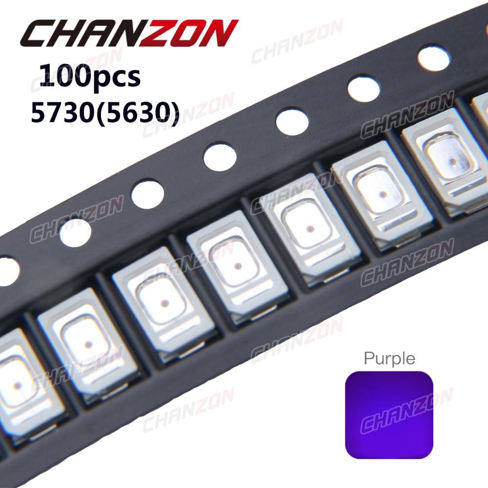 1000pcs UV LED Diode 5mm Round Ultraviolet Diodes Clear Coating LEDs Purple