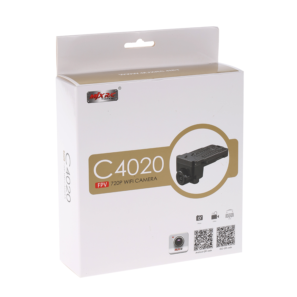 MJX C4020 WiFi 720P Real Time Aerial FPV Camera with 8GB Card for MJX B3 B6 RC Drone Quadcopter радиоуправляемый инверторный квадрокоптер mjx x904 rtf 2 4g x904 mjx