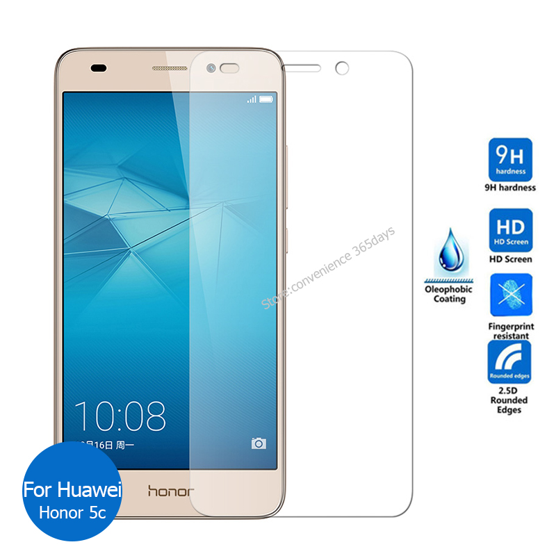 2PCS For <font><b>Huawei</b></font> <font><b>Honor</b></font> <font><b>5C</b></font> Tempered <font><b>Glass</b></font> Screen Protector 9h Safety Protective Film on Honor5c 5 C NEM-L22 NEM-L51 NEM L22 L51 image