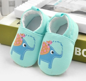 Hooyi хлопковая обувь для мальчика противоскользящие Чехлы для обуви из горного хрусталя, для детей ясельного возраста, для тех, кто только начинает ходить, для новорожденных; обувь для малышей, не начавших ходить носки для девочек - Цвет: 46